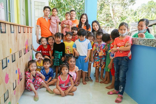 A FULL START FOR THE CHILDREN IN TAN PHUOC HUNG VILLAGE