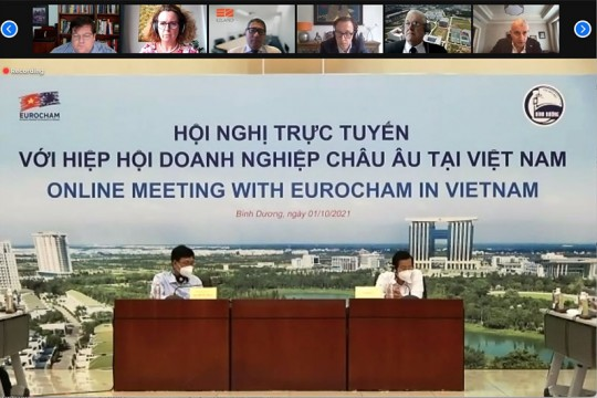 EZLAND VIRTUAL MEETING WITH BINH DUONG PEOPLE'S COMMITTEE