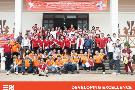 EZ LAND VIETNAM ORGANIZE MEDICAL EXAMINATION AND TREATMENT ACTIVITY IN TA NUNG